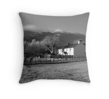 Middlefell Farm, Great Langdale Throw Pillow