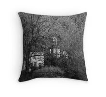 Old Dungeon Ghyll, Great Langdale Throw Pillow