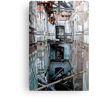 Destruction Metal Print