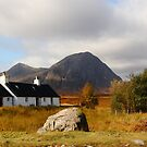 Black Rock Cottage Glen Coe by Paul Bettison