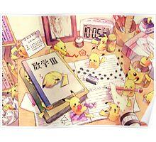 Pikachu's desktop Poster