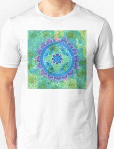 Mixed Media Mandala Unisex T-Shirt