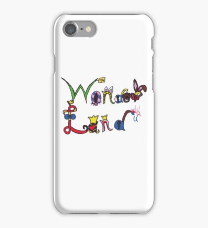 Characters of Wonder Land iPhone Case/Skin