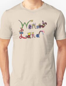 Characters of Wonder Land Unisex T-Shirt