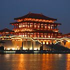 Tang Dynasty Shopping Centre, Xian by Stephen Tapply