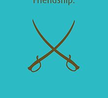 Friendship Swords - How I Met Your Mother by hscases