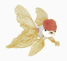 Daily Doodle 15 - Goldfish Tail Kids Tee