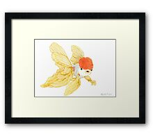 Daily Doodle 15 - Goldfish Tail Framed Print