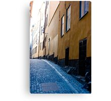 Old Town, Stockholm Canvas Print