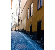 Old Town, Stockholm Photographic Print