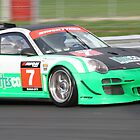 David Ashburn - Porsche 911 GT3 RSR - British GT Champions 2010 by MSport-Images