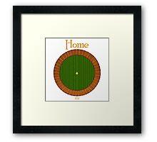 Home - Hobbit Hole Framed Print