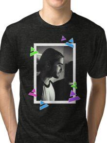 Manbun Jared Leto Tri-blend T-Shirt