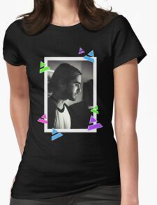Manbun Jared Leto Womens Fitted T-Shirt