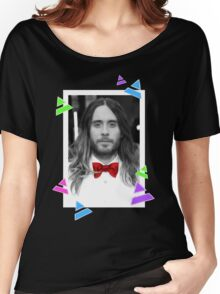 Ombre Jared Leto Women's Relaxed Fit T-Shirt