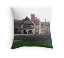 rousdon manor Throw Pillow