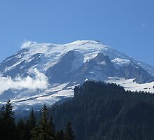 Mount Rainier from Box Canyon by Penny Ward Marcus