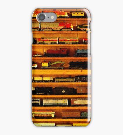 many trains iPhone Case/Skin