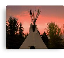 TeePee Creeping III Canvas Print