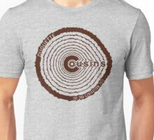 Cousins 2nd Generation - Brown Unisex T-Shirt