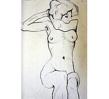Female Nude (egonschiele) Photographic Print