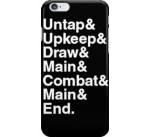 Magic the Gathering Steps iPhone Case/Skin