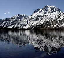 """Mirror Lake"" - June Lake, Early Spring. by Nyal Bennett"