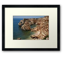 Praia da Marinha, Algarve Framed Print