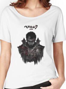 Berserk - Guts / Gattsu - The Black Swordsman Women's Relaxed Fit T-Shirt