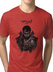Berserk - Guts / Gattsu - The Black Swordsman Tri-blend T-Shirt