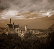 Neuschwanstein Castle, Germany by MikeyLee