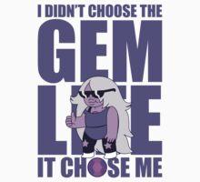 Amethyst: Didn't Choose The GEM LIFE Kids Tee