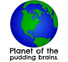 Doctor Who - Planet of the Pudding Brains Photographic Print