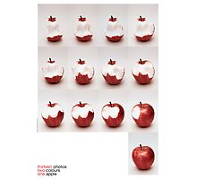 one apple Photographic Print