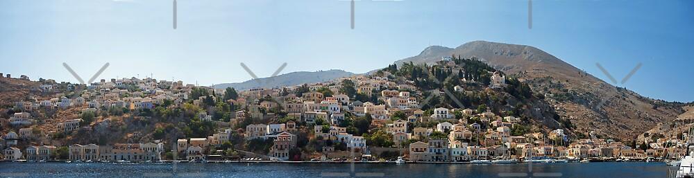 Symi Panorama by Tom Gomez