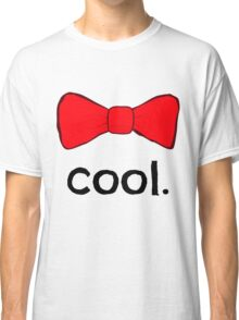 Bow Ties Are Cool - Doctor Who Classic T-Shirt
