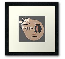 Suture Framed Print