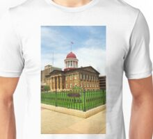 Springfield, Illinois - Old State Capitol Unisex T-Shirt