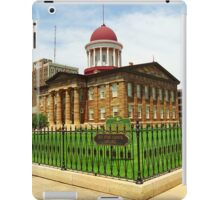 Springfield, Illinois - Old State Capitol iPad Case/Skin