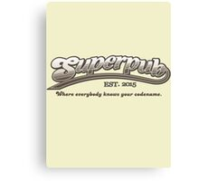 Superpub Logo Canvas Print