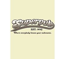Superpub Logo Photographic Print