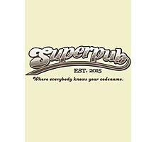 Superpub Logo Photographic Print