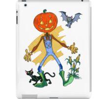 Pumpkin Scarecrow Pal iPad Case/Skin