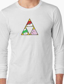 Triforce of Nintendo Long Sleeve T-Shirt