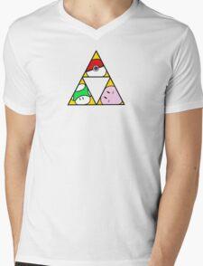 Triforce of Nintendo Mens V-Neck T-Shirt