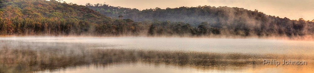 Mists Of Morn - Narrabeen Lakes, Sydney (50 Exposure HDR Panorama)  - The HDR Experience by Philip Johnson
