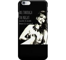 All Through The Night iPhone Case/Skin