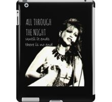 All Through The Night iPad Case/Skin