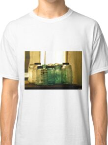 Old Glass Jars and Bottles Classic T-Shirt