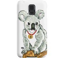 2013 Holiday ATC 13 - Koala with Sleigh Bell Samsung Galaxy Case/Skin